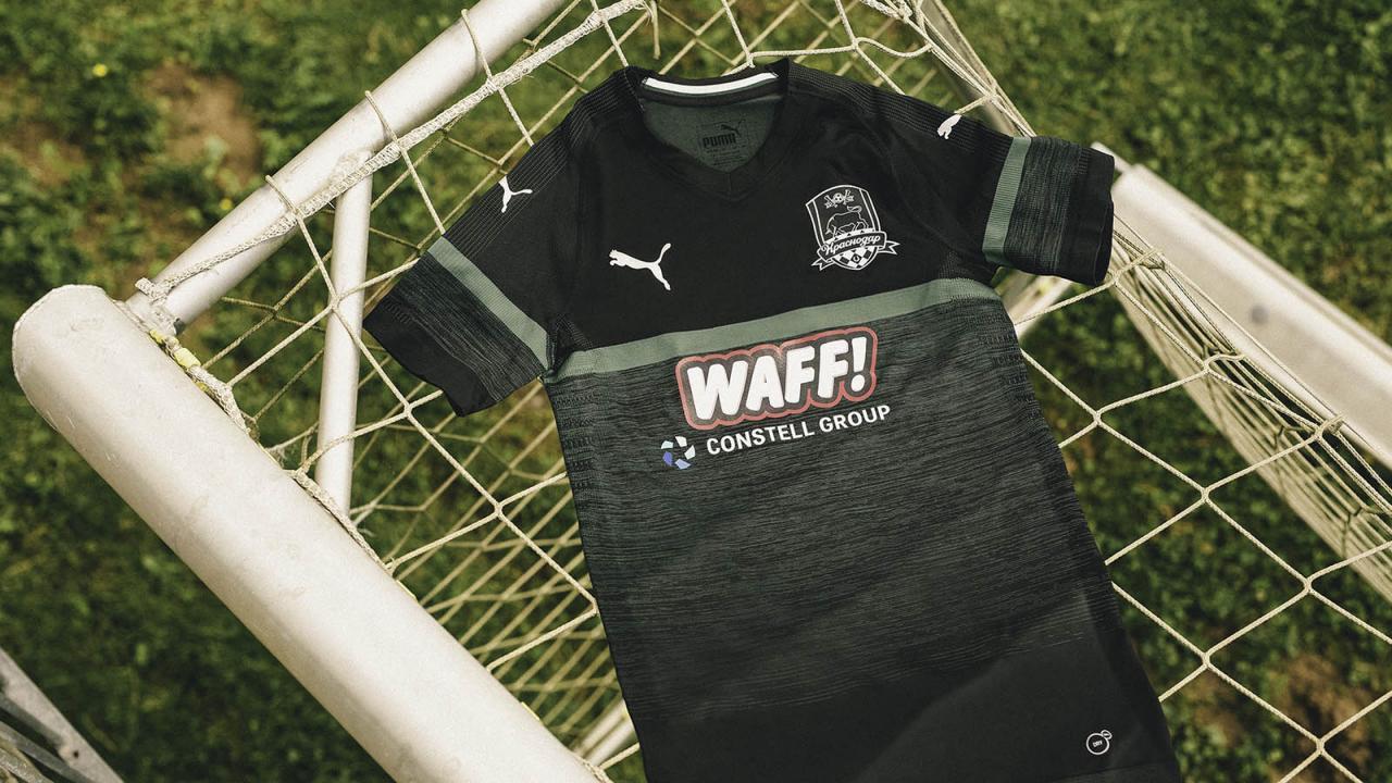 FC Krasnodar 2018-19 Home and Away Kits