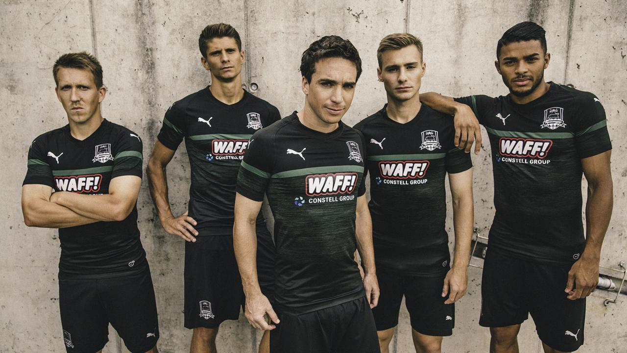 New form of FC Krasnodar in 2018-2019 17