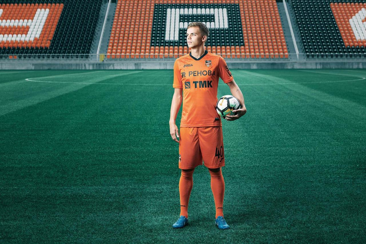 FC Ural 18-19 Home and Away Kits