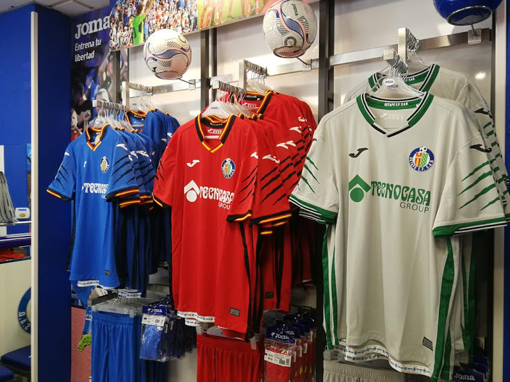 Getafe 2018-19 Joma Home Away Kits Football Shirt