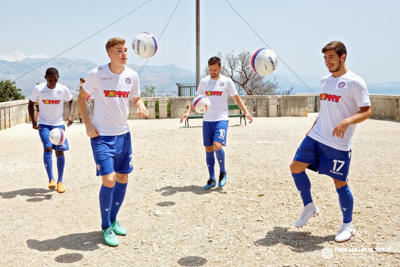 Hajduk Split 2818-19 Macron Home Kit