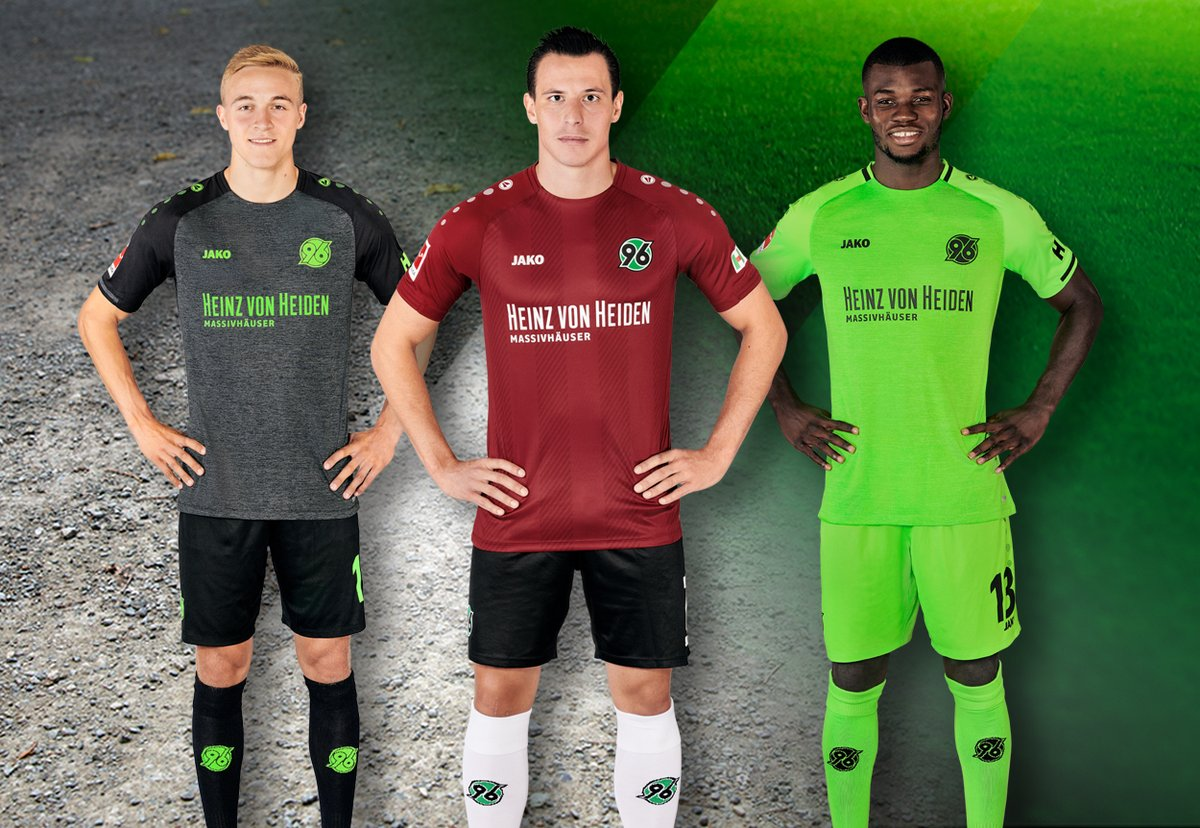 Hannover 96 2018-19 Jako Home, Away & Third Kits