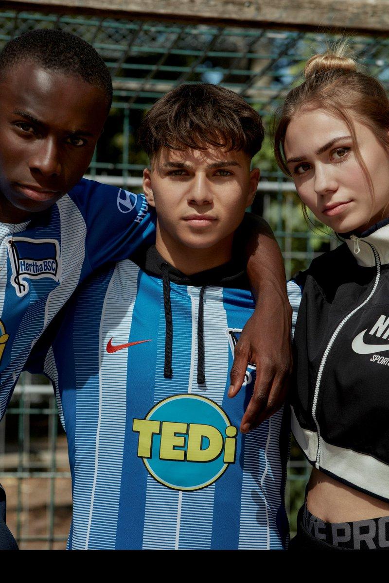 Hertha Berlin 2018-19 Nike Home & Away Kits