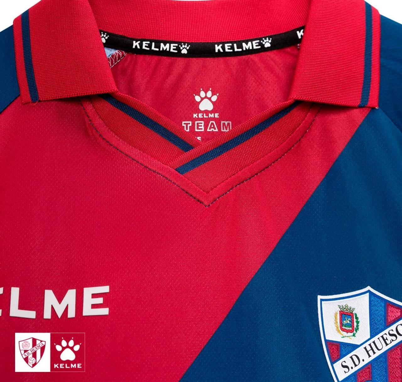 Huesca 2018-19 Kelme Home, Away & Third Kits