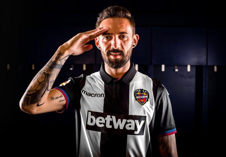 Levante 2018-19 Macron Away, Third Kits