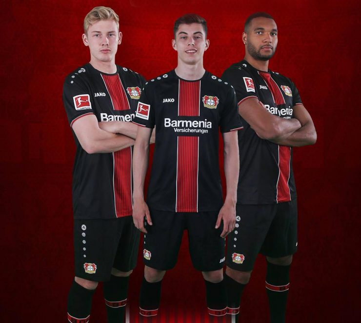Leverkusen 2018-19 Jako Home Kit
