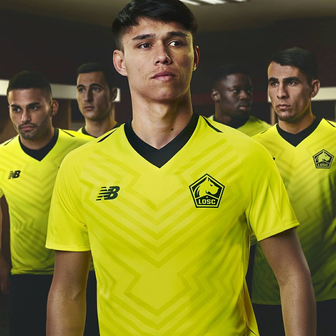Lille 2018-19 Home Away & Third Kits