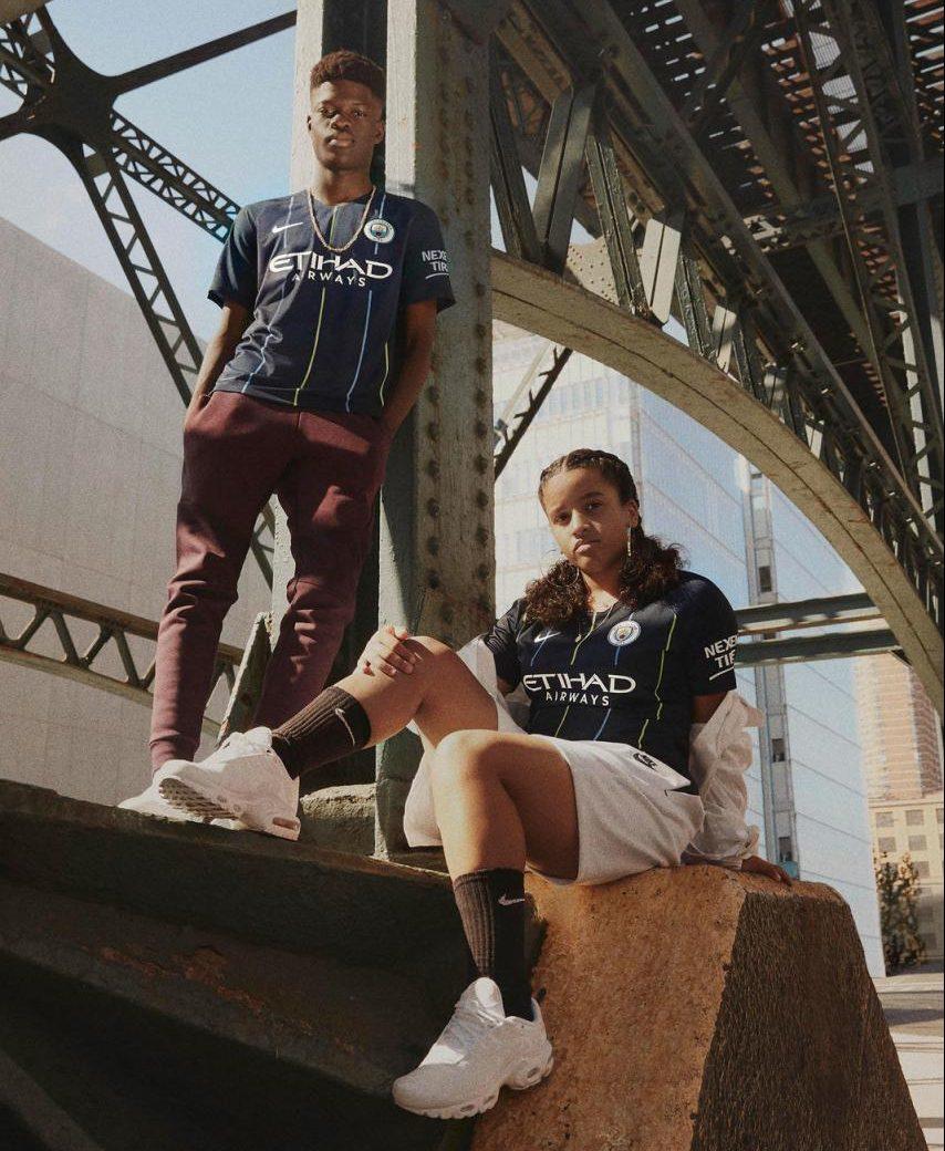 Manchester City 2018-19 Away Kit