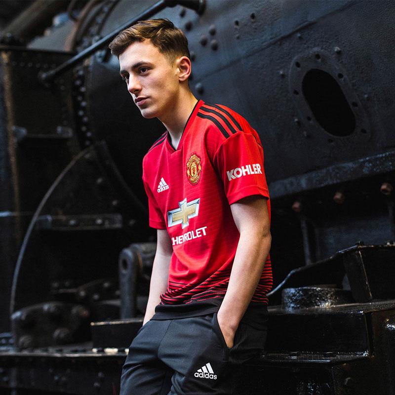 Manchester United 2018 19 Home Kit Football Shirt News