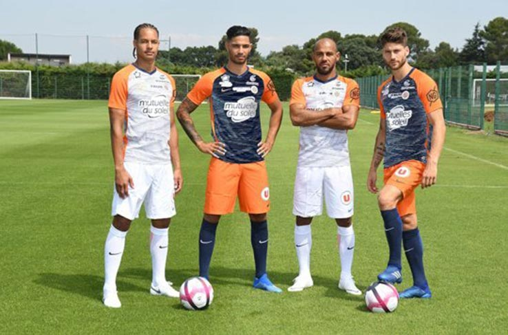 Montpellier 2018-19 Home & Away Kits
