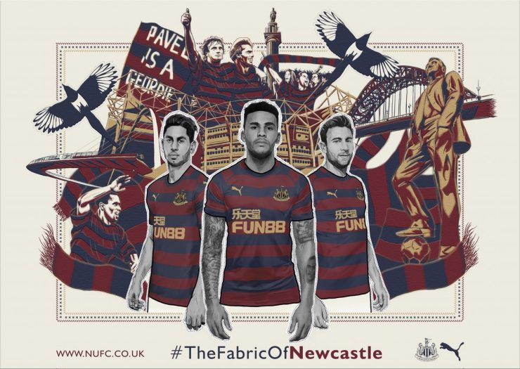 Newcastle 2018-19 Puma Away Kit Football Shirt