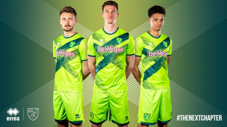 Norwich 2018-19 Third Kit