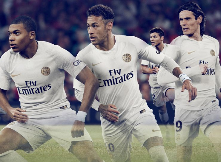 Paris Saint-Germain 2018-19 Away Kit