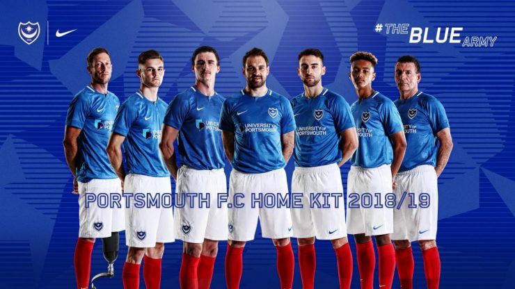 Portsmouth 2018-19 Home & Away Kit