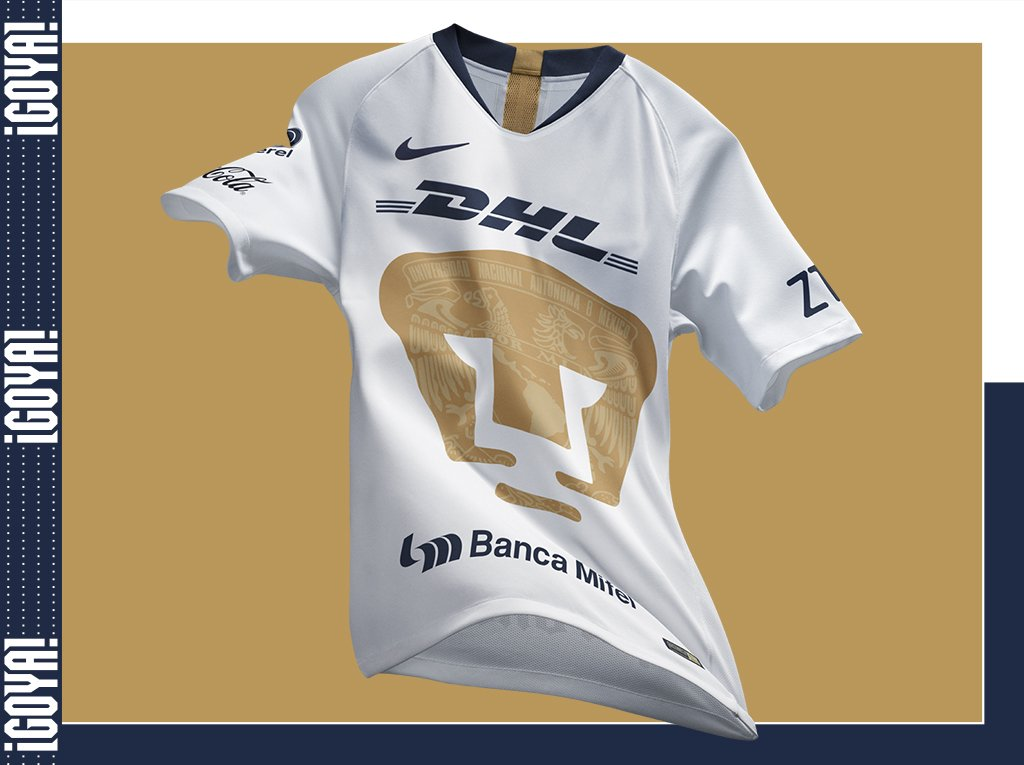 b1887d0811b Pumas UNAM 2018-19 Nike Home and Away Kit