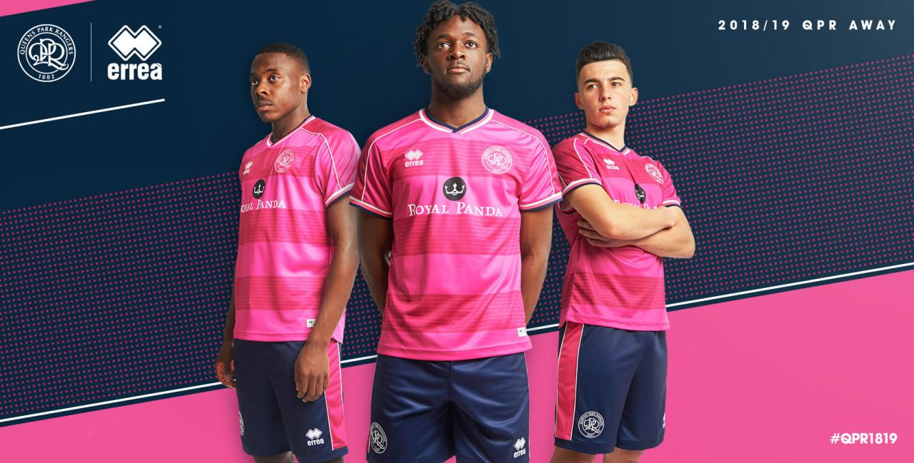 Queens Park Rangers 2018-19 Erreà Home Away Kit