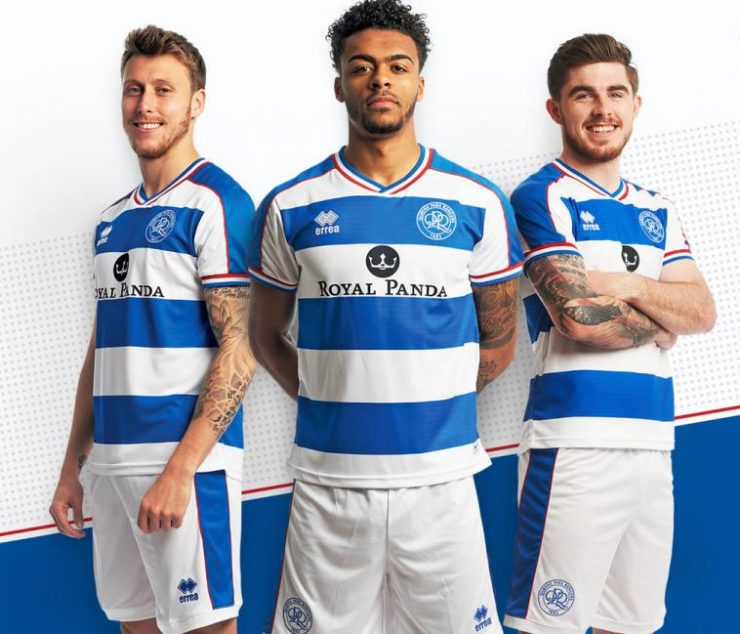 Queens Park Rangers 2018-19 Erreà Home Away Kit