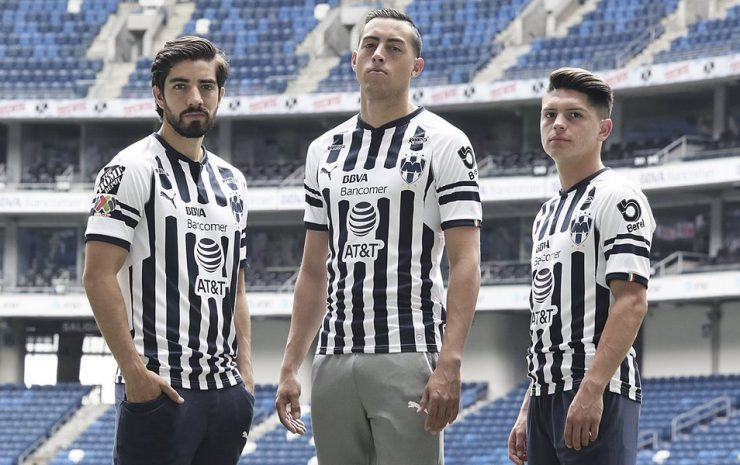Rayados Monterrey 2018-19 Home & Away Kits