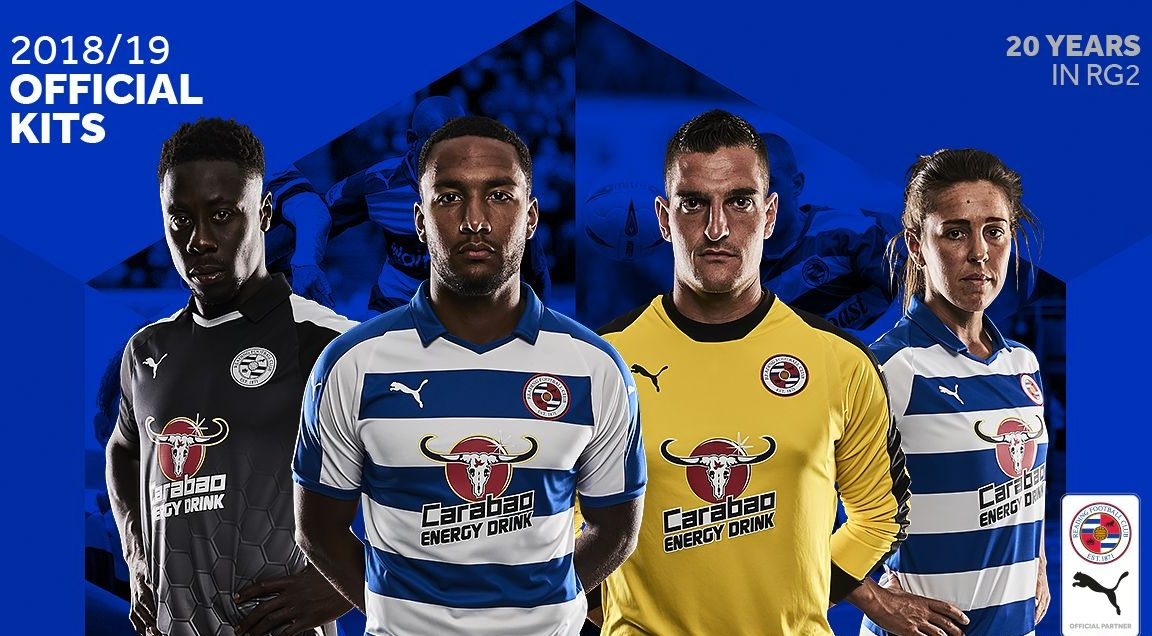 Reading 2018-19 Home & Away Kits