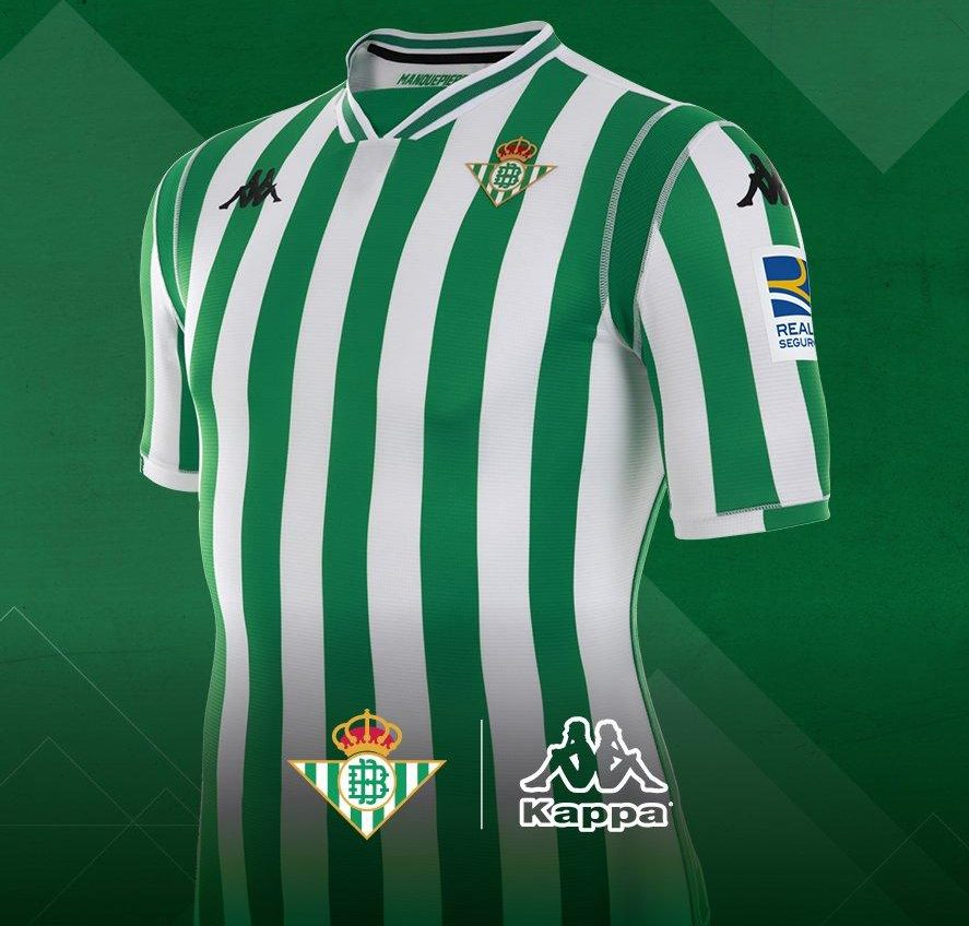 Real Betis 2018-19 Kappa Home & Goalkeeper Kits