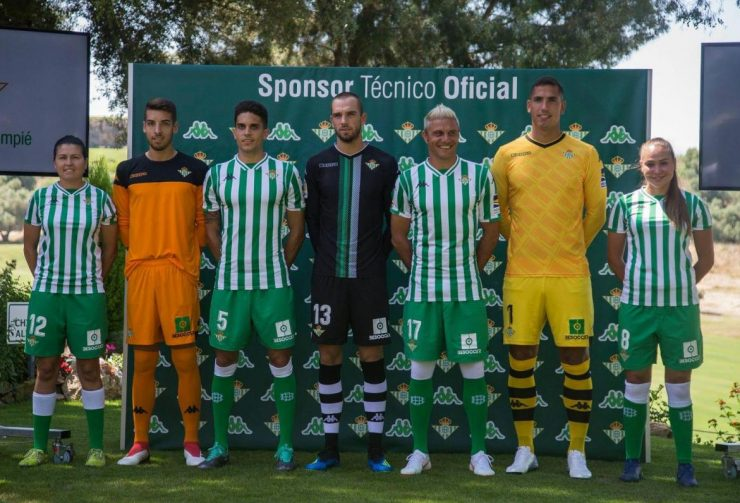 Real Betis 2018-19 Kappa Home & Goalkeeper Kits