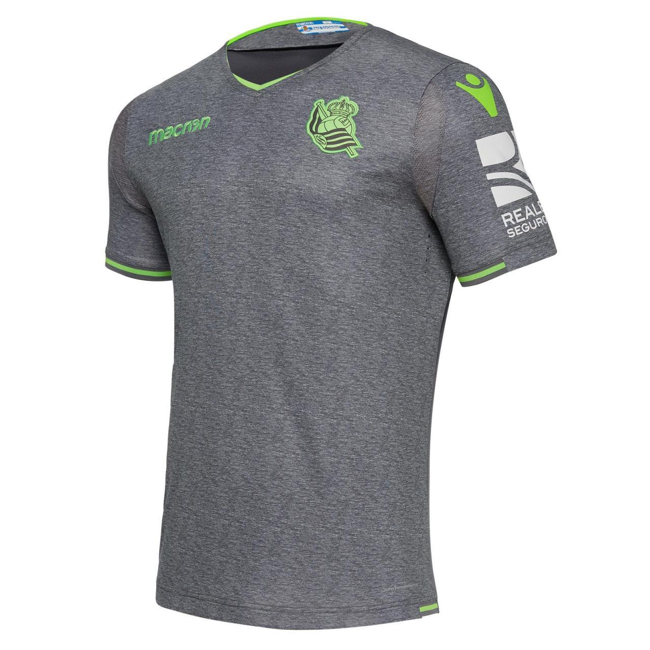 Real Sociedad 2018-19 Macron Home & Away Kits