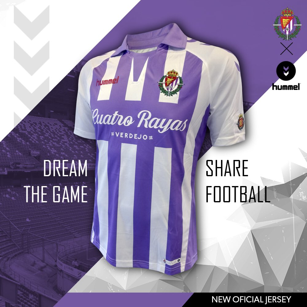 Real Valladolid 2018-19 Home Away Kits | Football Shirt News