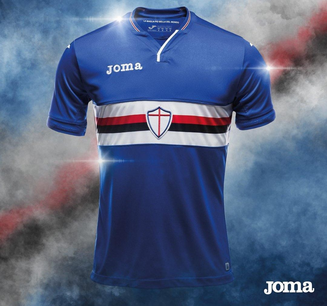 Sampdoria 2018-19 Joma Home Away & Third Kits