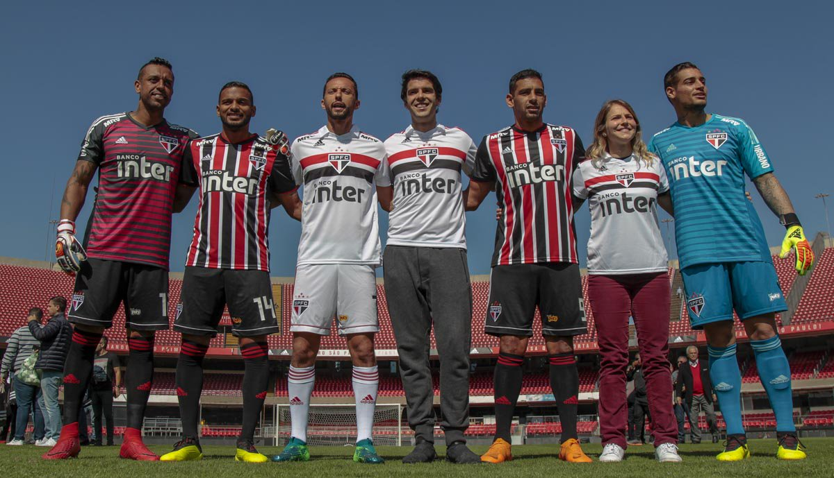 São Paulo 2018-19 Adidas Home & Away Kits