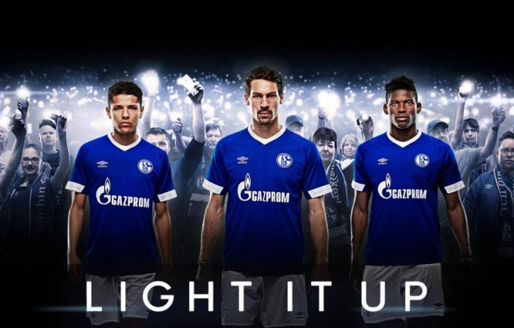 Schalke 04 2018-19 Umbro Home And Away Kit