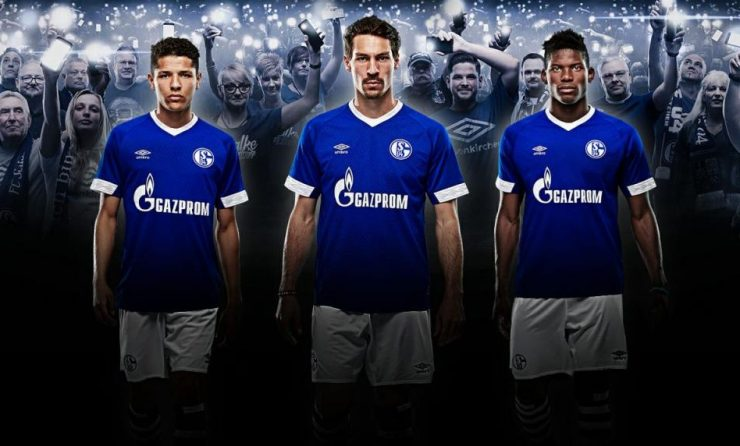Schalke 2018-19 Umbro Home Kit