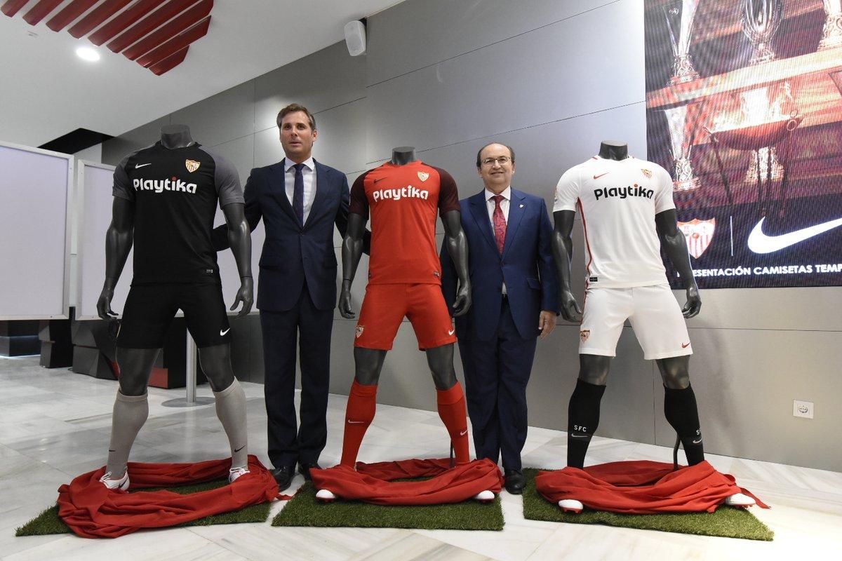 Sevilla 2018-19 Nike Home, Away & Third Kits Football Shirt