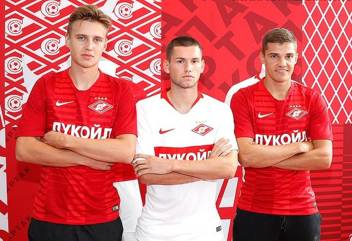 Spartak Moscow 2018-19 Nike Home & Away Kits