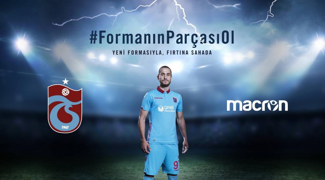 Trabzonspor 2018-19 Macron Home, Away & Third Kits