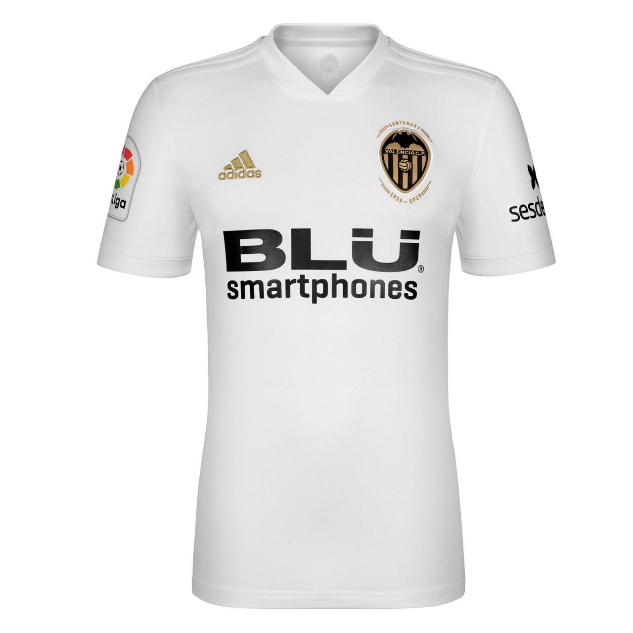 Valencia 2018-19 Adidas Home Kit