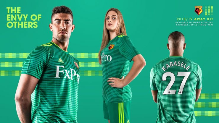 Watford 2018-19 Adidas Away Kits