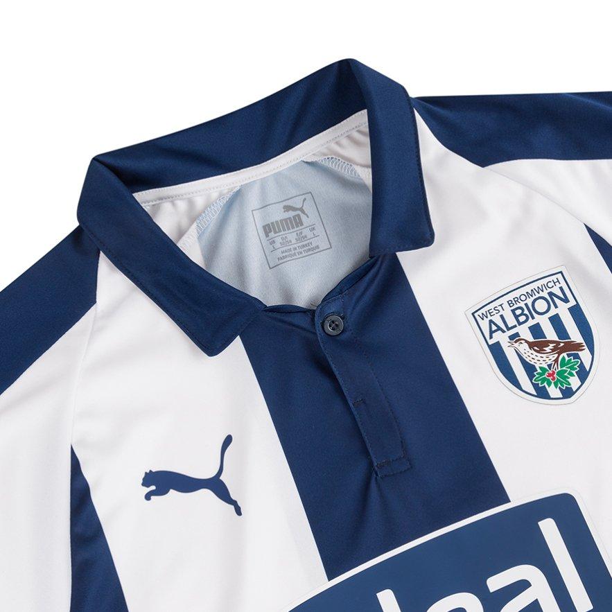 West Bromwich Albion 2018-19 Puma Home Kit