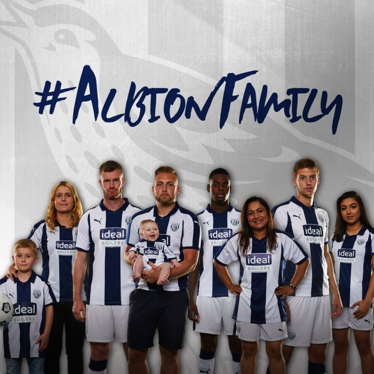 West Bromwich Albion 2018-19 Puma Home Kit