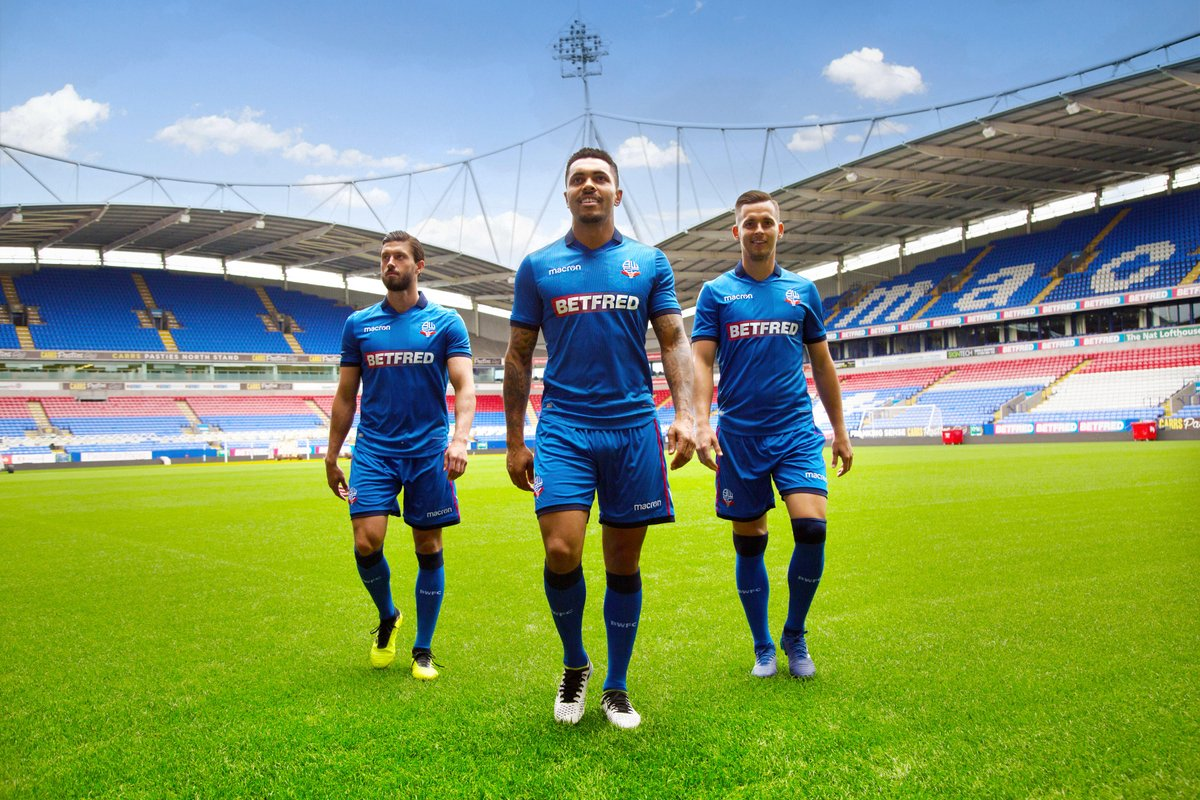 Bolton Wanderers 2018-19 Home Away Third Kit