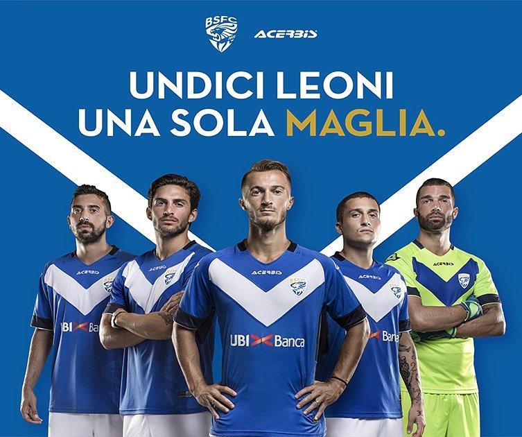 Brescia Calcio 2018-19 Home Kit