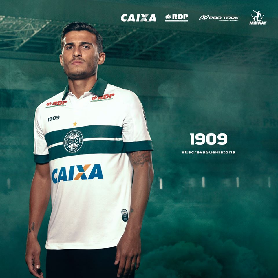 Coritiba 2108-19 Addidas Home Kits