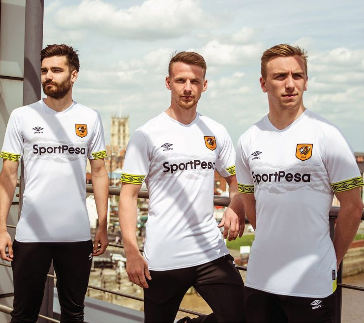 Hull City 2018-19 Third Kit Football Shirts