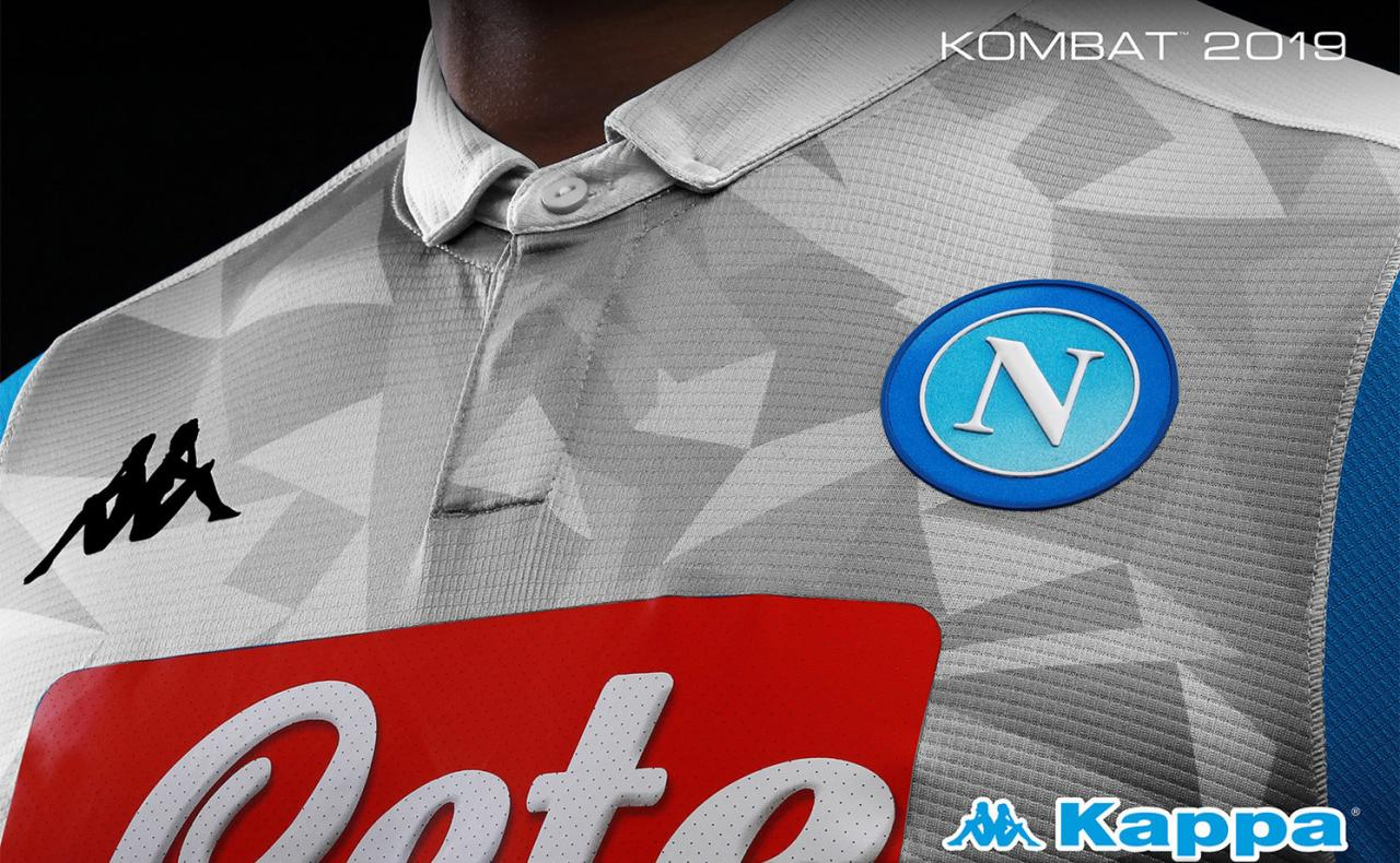 Napoli 2018-19 Kappa Third Kit