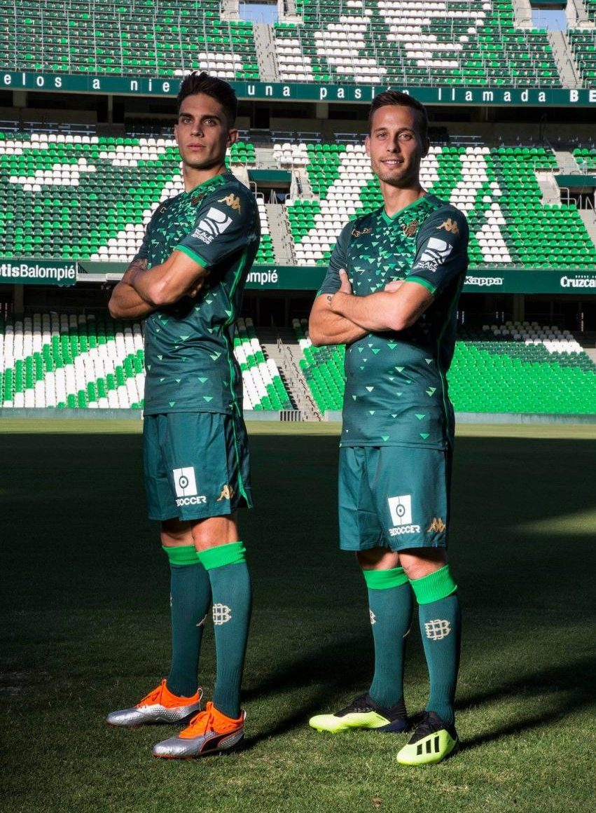 Real Betis 2018-19 Kappa Away Kit