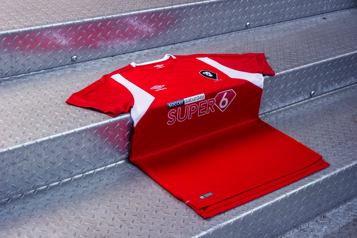 Salford City FC 2018-19 Home Kit Football shirts