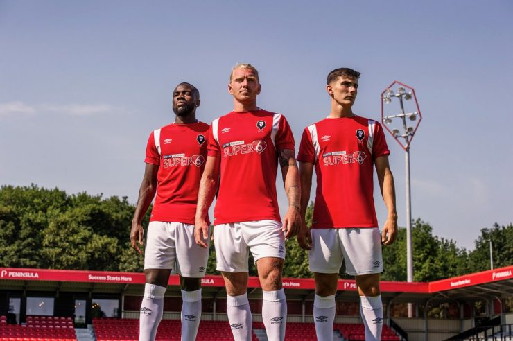 Salford City FC 2018-19 Home Kit Football shirts
