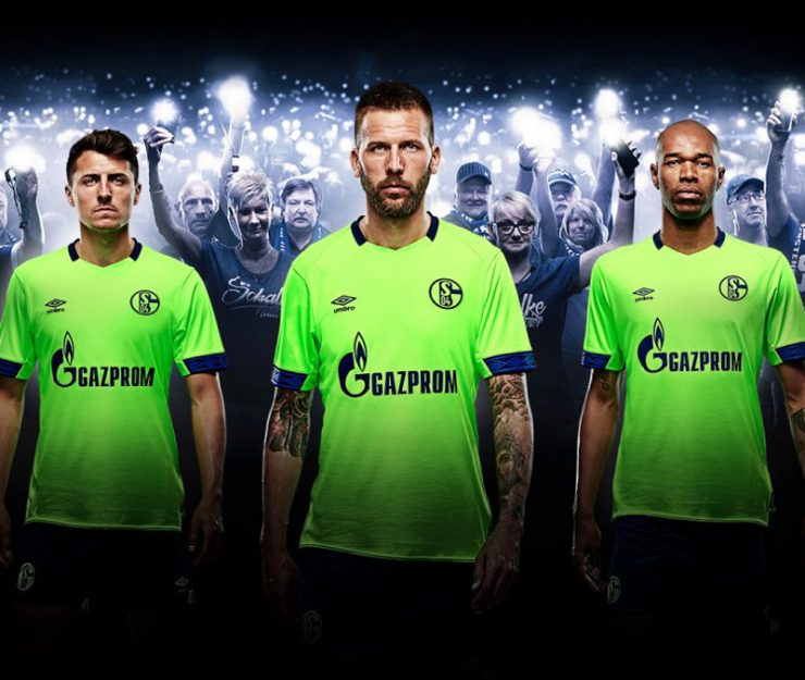 Schalke 2018-19 Umbro Third Kits