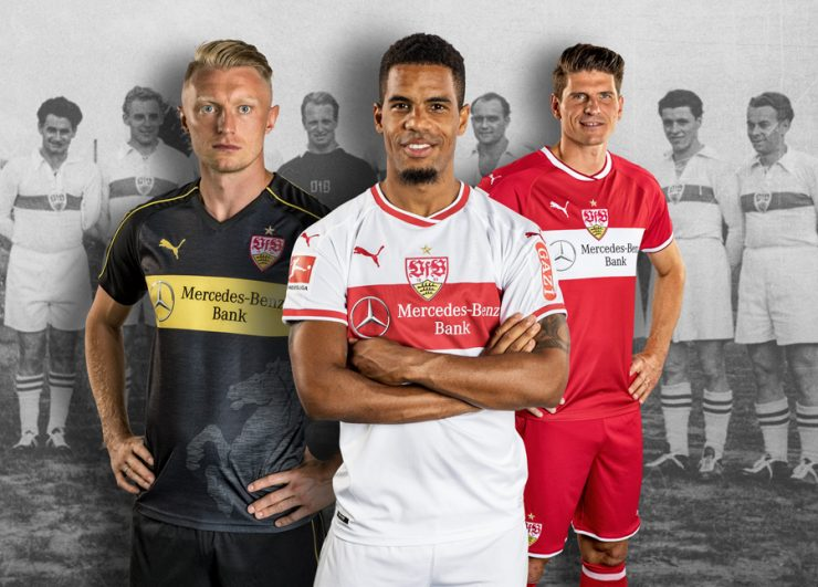 Stuttgart 2018-19 Puma Away Kits