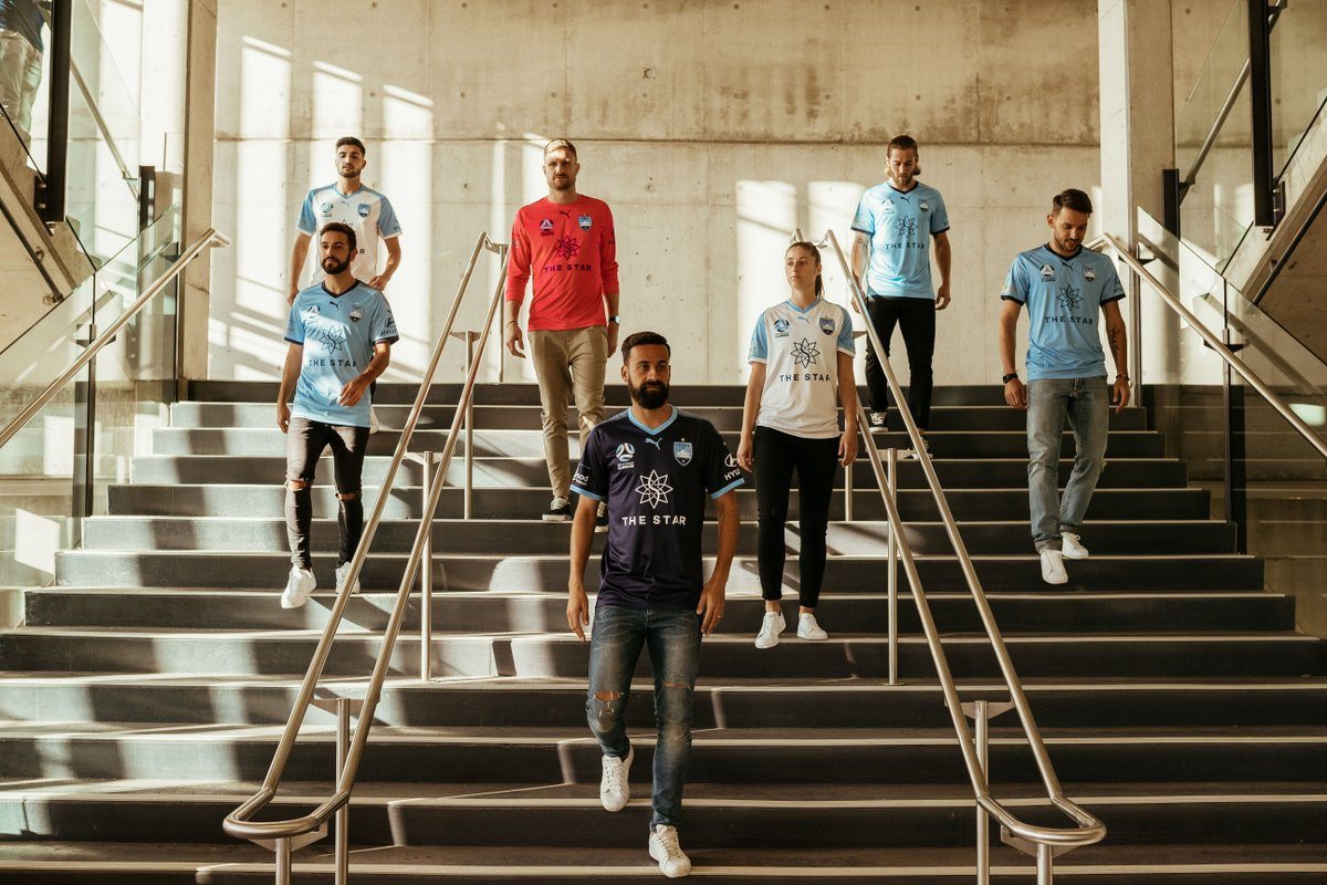 Sydney FC 2018-19 Home, Away & Third Kit