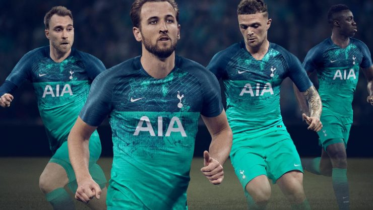 Tottenham Hotspur 2018-19 Third Kit